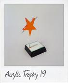 Orange star trophy