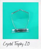 Crystal Trophy 20