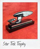 Custom Aluminium Star Trek Trophy
