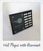 custom trophies wooden wall plaque