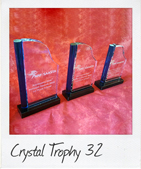 Crystal Trophy 32