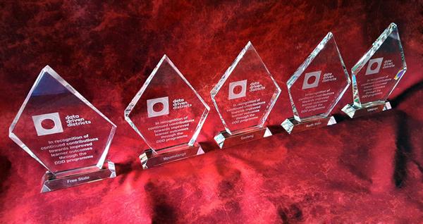 five crystal awards