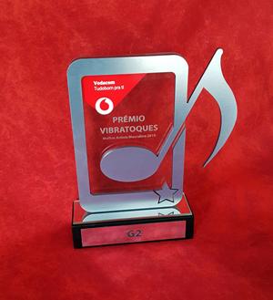 custom aluminium music awards