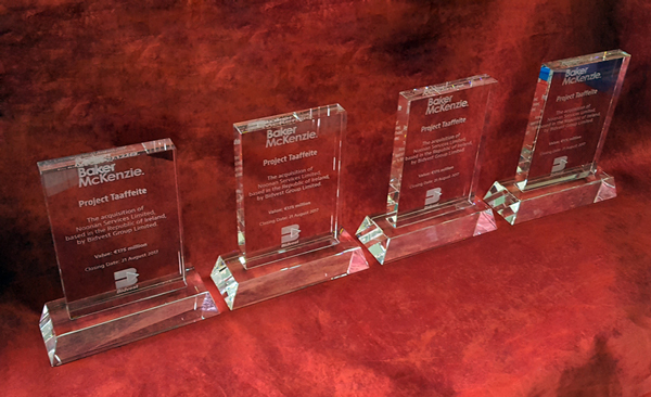 Sandblasted Rectangle Crystal Trophies