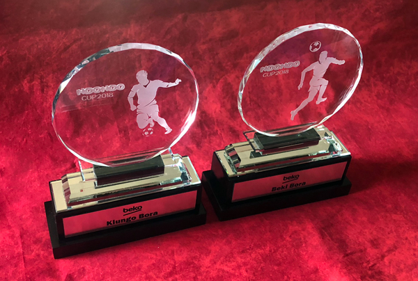 Crystal Soccer Tournament Trophies
