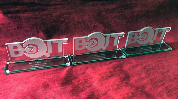 Custom Glass Cut Out Trophies